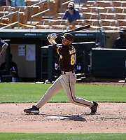Tucupita Marcano - San Diego Padres 2021 spring training (Bill Mitchell)