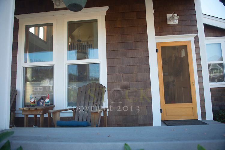 Beach House with Front Porch,