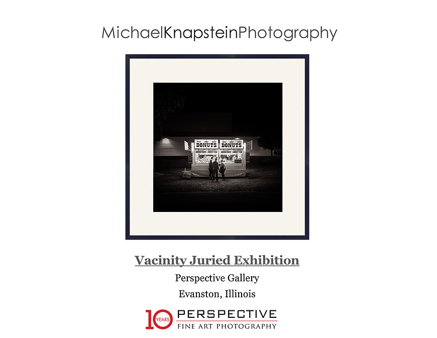 """""""Mini Donuts"""" by Michael Knapstein was selected for a juried exhibition at the Perspective Gallery in Evanston, Illinois."""