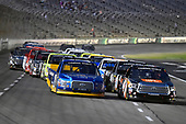 NASCAR Camping World Truck Series<br /> winstaronlinegaming.com 400<br /> Texas Motor Speedway, Ft. Worth, TX USA<br /> Friday 9 June 2017<br /> Christopher Bell, JBL Toyota Tundra and Chase Briscoe, Cooper Standard Ford F150<br /> World Copyright: Nigel Kinrade<br /> LAT Images<br /> ref: Digital Image 17TEX2nk03816