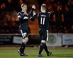 27.3.2018: St Mirren v Dumbarton:<br /> Gavin Reilly celebrates his goal