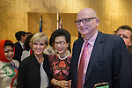 21 March 2016, Jakarta, Indonesia:  Australia's Foreign Minister Julie Bishop and Ambassador to Indonesia, Mr.Paul Grigson leading the official proceedings at the opening of the new Australian Embassy in Jakarta. The function included traditional welcomes, dancing and speeches from Australian and Indonesian guests. Picture by  Graham Crouch/DFAT