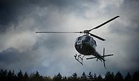 Liege-Bastogne-Liege 2012.98th edition..TV chopper
