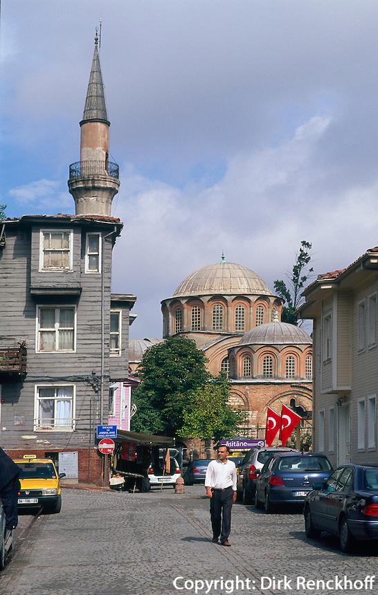 Türkei, byzantinische Chora-Kirche (Kariye Müzesi) in Istanbul , UNESCO-Weltkulturerbe