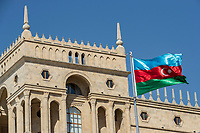 3rd June 2021; Baku, Azerbaijan;  Baku  during the Formula 1 Azerbaijan Grand Prix 2021 at the Baku City Circuit, in Baku, Azerbaijan