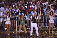Action photo during the match Argentina vs Chile corresponding to the Final of America Cup Centenary 2016, at MetLife Stadium.<br /> <br /> Foto durante al partido Argentina vs Chile cprresponidente a la Final de la Copa America Centenario USA 2016 en el Estadio MetLife , en la foto:Pitbull<br /> <br /> <br /> 26/06/2016/MEXSPORT/JAVIER RAMIREZ