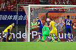 Borussia Dortmund midfielder Gonzalo Castro (c) celebrating his score during the International Champions Cup China 2016, match between Manchester United vs Borussia  Dortmund on 22 July 2016 held at the Shanghai Stadium in Shanghai, China. Photo by Marcio Machado / Power Sport Images