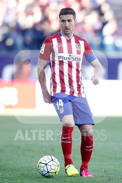 Atletico de Madrid's Gabi Fernandez during La Liga match. April 30,2016. (ALTERPHOTOS/Acero)