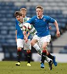 Lewis White of Rangers
