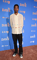 """LOS ANGELES, CA - JUNE 10: Travis Bennett attends the Season Two Red Carpet event for FXX's """"DAVE"""" at the Greek Theater on June 10, 2021 in Los Angeles, California. (Photo by Frank Micelotta/FXX/PictureGroup)"""