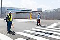 Construction at Toyosu Fish Market site