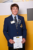 Boys Hockey winner Dwayne Rowsell from Auckland Grammar School. ASB College Sport Auckland Secondary School Young Sports Person of the Year Awards held at Eden Park on Thursday 12th of September 2009.