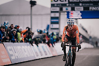 Pim Ronhaar (NED) finishing 6th<br /> <br /> Junior Men's Race<br /> UCI CX Worlds 2018<br /> Valkenburg - The Netherlands