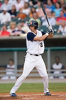 Tennessee center fielder Tyler Colvin (21) at bat versus Carolina at Smokies Park in Sevierville, TN, Friday, July 27, 2007.