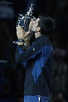 Novak Djokovic<br /> US Open Tennis Men's Final 9-9-2018<br /> Photo By John Barrett/PHOTOlink