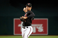 AZL Diamondbacks pitcher Justin Martinez during an Arizona League game against the AZL Angels on August 24, 2019 at Chase Field in Phoenix, Arizona.  (Freek Bouw/Four Seam Images)