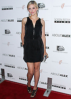 HOLLYWOOD, LOS ANGELES, CA, USA - AUGUST 06: Actress Maggie Grace arrives at the Los Angeles Premiere Of Screen Media Films' 'About Alex' held at ArcLight Hollywood on August 6, 2014 in Hollywood, Los Angeles, California, United States. (Photo by Xavier Collin/Celebrity Monitor)