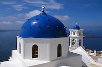 Griechenland, Insel Santorin (Santorini), Kirche Panagia Maltesa in Imerovigli