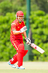 Huang Zhuo of China in action during their ICC 2016 Women's World Cup Asia Qualifier match between China and Hong Kong on 10 October 2016 at the Hong Kong Cricket Club in Hong Kong, China. Photo by Victor Fraile / Power Sport Images