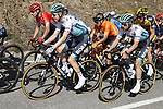 Wilco Kelderman (NED) and Ben Zwiehoff (GER) Bora-Hansgrohe during Stage 4 of the 100th edition of the Volta Ciclista a Catalunya 2021, running 166.5km from Ripoll to Port Aine, Spain. 25th March 2021.   <br /> Picture: Bora-Hansgrohe/Luis Angel Gomez/BettiniPhoto | Cyclefile<br /> <br /> All photos usage must carry mandatory copyright credit (© Cyclefile | Bora-Hansgrohe/Luis Angel Gomez/BettiniPhoto)