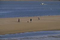 Europe/France/Normandie/Basse-Normandie/14/Calvados/Honfleur: La plage