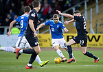 Dundee v St Johnstone…29.12.18…   Dens Park    SPFL<br />David Wotherspoon and Andrew Boyle<br />Picture by Graeme Hart. <br />Copyright Perthshire Picture Agency<br />Tel: 01738 623350  Mobile: 07990 594431
