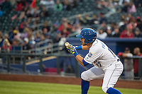 Reymond Fuentes (12) of the Omaha Storm Chasers at bat against the Memphis Redbirds in Pacific Coast League action at Werner Park on April 24, 2015 in Papillion, Nebraska.  (Stephen Smith/Four Seam Images)
