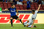 FC Internazionale Defender Danilo D'Ambrosio (L) in action during the International Champions Cup 2017 match between FC Internazionale and Chelsea FC on July 29, 2017 in Singapore. Photo by Weixiang Lim / Power Sport Images