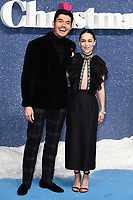 """Henry Golding and Emelia Clarke<br /> arriving for the """"Last Christmas"""" Premiere at the BFI Southbank, London.<br /> <br /> ©Ash Knotek  D3531 11/11/2019"""