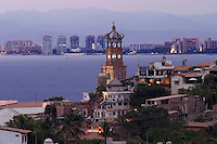 Our Lady of Guadalope in Puerto Vallerta Mexico. Banderas Bay.
