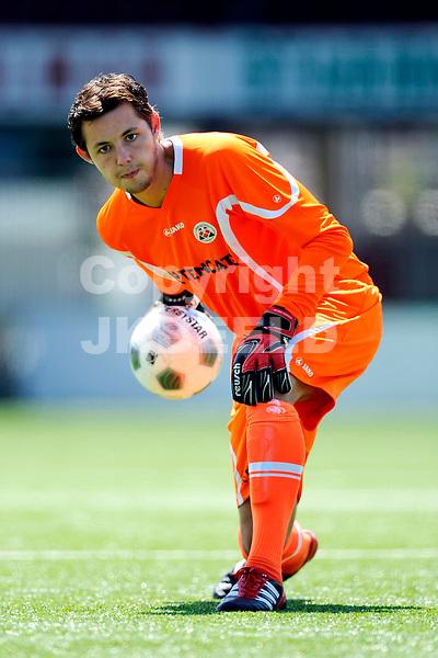 ALMELO - Persdag Heracles Almelo Eredivisie , seizoen 2011-2012, 08-07-2011 Nick Hengelman.