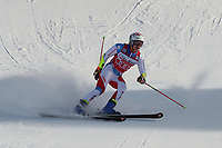 20th December 2020; Alta Badia, South-Tyrol, Italy; International Ski Federation World Cup Alpine Skiing, Giant Slalom;  Marco Odermatt (SUI) completes his run