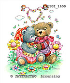 GIORDANO, CUTE ANIMALS, LUSTIGE TIERE, ANIMALITOS DIVERTIDOS, Teddies, paintings+++++,USGI1609,#AC# teddy bears