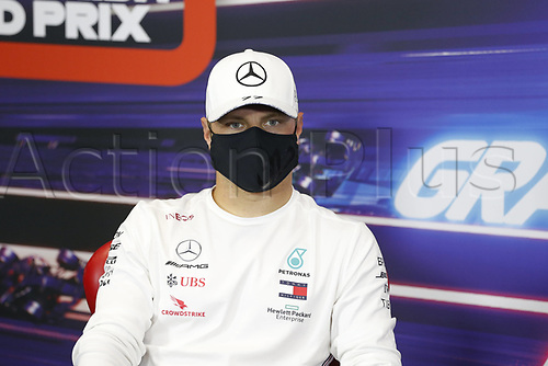 12th November 2020; Istanbul Park, Istanbul, Turkey;  FIA Formula One World Championship 2020, Grand Prix of Turkey, 77 Valtteri Bottas FIN, Mercedes-AMG Petronas Formula One Team pre race press conference