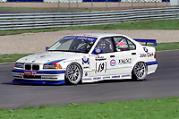 Round 12 of the 1997 British Touring Car Championship at Silverstone. #19 Colin Gallie (GBR). Team DCRS. BMW 320i.