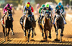 November 1, 2019: Storm the Court, ridden by Flavien Prat, wins the TVG Breeders' Cup Juvenile on Breeders' Cup World Championship Friday at Santa Anita Park on November 1, 2019: in Arcadia, California. Michael McInally/Eclipse Sportswire/CSM