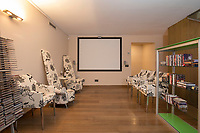 BNPS.co.uk (01202) 558833. <br /> Pic: Hamptons/BNPS<br /> <br /> Pictured: The cinema room.<br /> <br /> A stunning villa where Love Island was filmed is on the market for £5.94m.<br /> <br /> Fans of the show - where singletons live together and couple up to stay in the villa and win a cash prize - might recognise this beautiful home from the Australian spin-off.<br /> <br /> The elegant six-bedroom property, which has a pool and a vineyard, was used in the first series of the Australian version, filmed in 2018 but only aired in the UK last year.