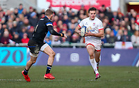 Saturday 18th January 2020 | Ulster vs Bath<br /> <br /> Jacob Stockdale during the Heineken Champions Cup Pool 3 Round 6 match between Ulster Rugby and Bath Rugby at Kingspan Stadium, Ravenhill Park, Belfast, Northern Ireland. Photo by John Dickson / DICKSONDIGITAL