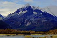 Mountain scenery in Katmai, Alaska.