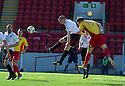 Albion's John Gemmell (19) scores their second goal.