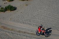 6th January 2021; Wadi Al Dawasir to Riyadh, Saudia Arabia; Dakar 2021 Rally, stage 4;  #47 Benavides Kevin (arg), Honda, Monster Energy Honda Team 2021, Motul, Moto, Bike, action during the 4th stage of the Dakar 2021 between Wadi Al Dawasir and Riyadh, in Saudi Arabia on January 6, 2021