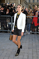 Octber 3 2017, PARIS FRANCE the Louis Vuitton Show at the Paris Fashion Week<br /> Spring Summer 2017/2018. Actress Jennifer Connelly arrives at the show.