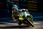 Dan Kruger races the Macau Motorcycle Grand Prix during the 61st Macau Grand Prix on November 15, 2014 at Macau street circuit in Macau, China. Photo by Aitor Alcalde / Power Sport Images