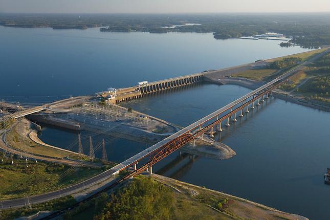 Kentuck Lake Dam at Land Between the Lakes