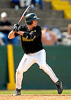 21 April 2007: University of Vermont Catamounts' Ethan Paquette, a Freshman from West Burke, VT, in action against the University of Hartford Hawks at Historic Centennial Field, in Burlington, Vermont. ..Mandatory Photo Credit: Ed Wolfstein Photo