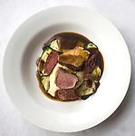Entree, Le Mercury Restaurant, London, city, England, UK, United Kingdom, Great Britain, Europe, European