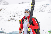15th October 2020, Rettenbachferner, Soelden, Austria; FIS World Cup Alpine Skiing free practise training;  Ramona Siebenhofer of Austria during a free practice session for for womens Giant Slalom of FIS ski alpine world cup opening at the Rettenbachferner in Soelden