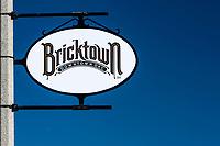 Oklahoma City, Oklahoma, USA.  Bricktown Sign.