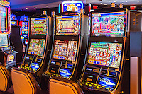 Las Vegas, Nevada.  Slot Machines at The Cromwell Casino.