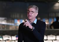 10th March 2020, FIFA Museum , Zurick, Switzerland; FIFA-Director of global football development, Arsene Wenger is interviewed